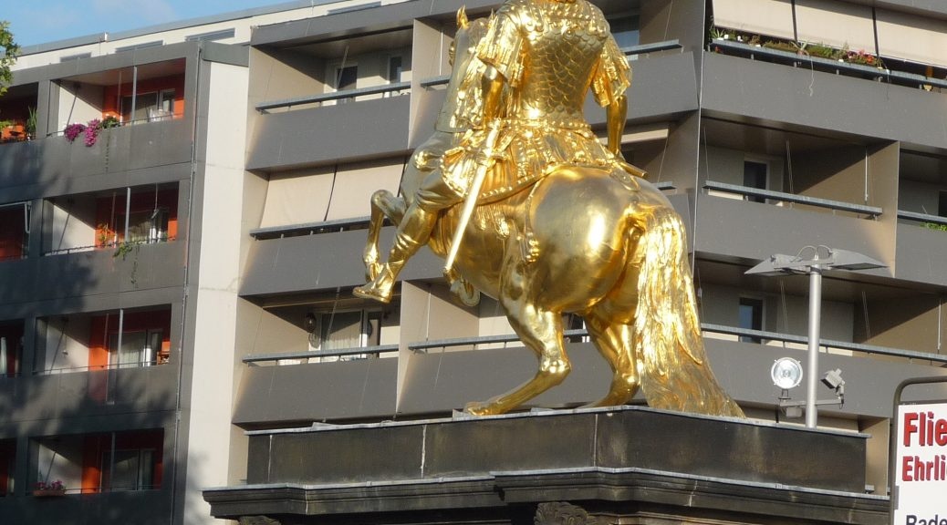 Barockes Gold und DDR-Beton