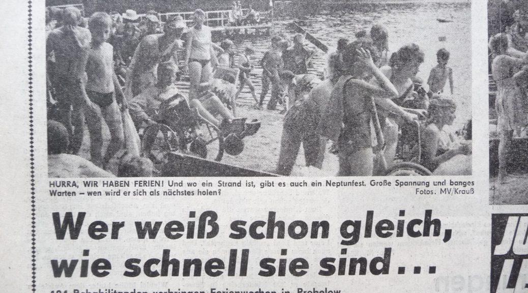 Ferinelager in der End-DDR